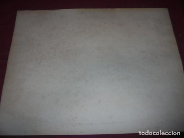Arte: magnifico antiguo dibujo firmado y fechado 1928 - Foto 8 - 249299905