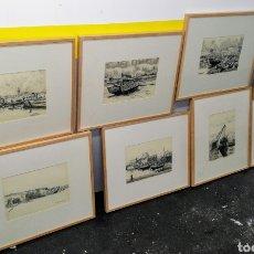 Arte: 8 CUADROS - EXPOSICION J. BALLEYGUIER . AÑOS 50, ENVIO CERTIFICADO INCLUIDO.. Lote 251198285