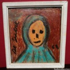 Arte: ROSTRO POR JOSEP MARIA DE SUCRE (1886-1969). SALA GASPAR.. Lote 251224670