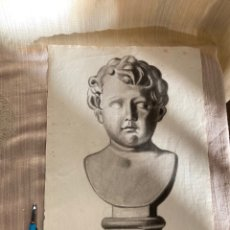 Art: ANTIGUO CARBONCILLO FIRMA M.PUIG 1929!. Lote 253569570