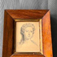 Arte: KATHERINE RAVEN , ORIGINAL DRAWING , DIBUJO A LÁPIZ S. XIX. Lote 254488330