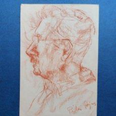 "Arte: PILAR ROJAS"" BOCETO AL NATURAL ROSTRO"". Lote 254748745"