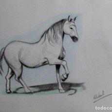 Arte: CABALLO OBRA DE GILABERTE. Lote 254913390