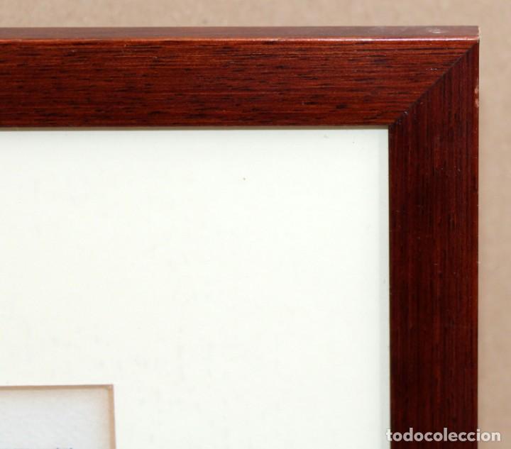 Arte: JOAN GARCIA JUNCEDA SUPERVIA - DIBUJO ORIGINAL CON CERTIFICADO DE AUTENTICIDAD - 19,5 X 15,5 cm. - Foto 7 - 255926525