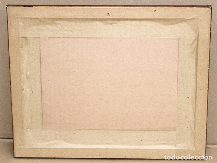 Arte: GAIETÀ CORNET PALAU - DIBUJO A TINTA Y ACUARELA - 10,5 x 17 cm - EL DUELO. - Foto 8 - 255927970
