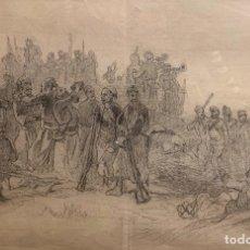 Arte: MARCELINO DE UNCETA (1835-1905) DESPUÉS DE LA BATALLA. Lote 255938740