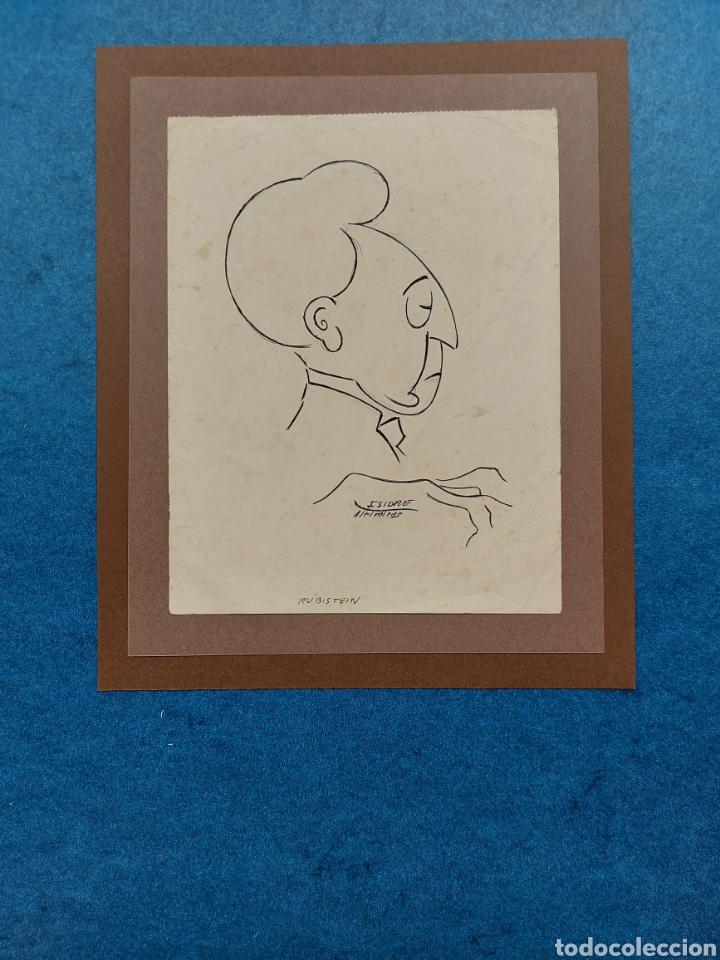 "I. ALTIMIRAS"" CARICATURA RUBISTEIN"" (Arte - Dibujos - Contemporáneos siglo XX)"