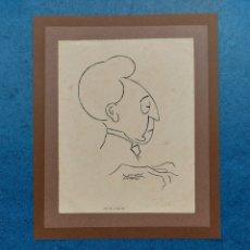 """Arte: I. ALTIMIRAS"""" CARICATURA RUBISTEIN"""". Lote 256026530"""