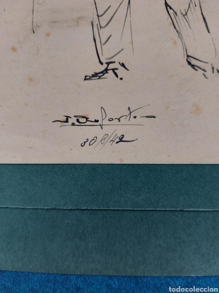 Arte: ORIGINAL ILUSTRACION COMIC 1942 - Foto 4 - 256029135