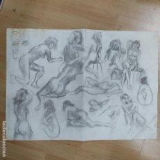 Arte: BOCETOS MUJER DESNUDA (2736/21). Lote 259778110