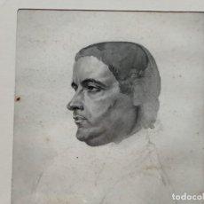Arte: MINIATURA EN TINTA AGUADA, (PRINCIPIOS SIGLO XIX), AUTOR NO IDENTIFICADO, (9X8). Lote 260497085