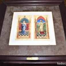 Arte: A. UTRILLO. DIBUJOS ORIGINALES COLOREADOS. Lote 261225850