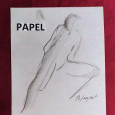 Arte: DIBUJO ORIGINAL.CARBONCILLO. FIRMADO. O. JUNYENT. Lote 261297525