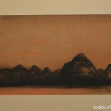 Arte: JOSÉ SEGRELLES, PAISAJE SIDERAL 41,5 X 52 CM DIBUJO/CARBONCILLO ORIGINAL.. Lote 261823570