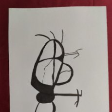 Arte: DIBUJO ORIGINAL. SERIE NEGRA. TINTA CHINA Y PINCEL. FIRMADO. V. FARRRES. Lote 261948580