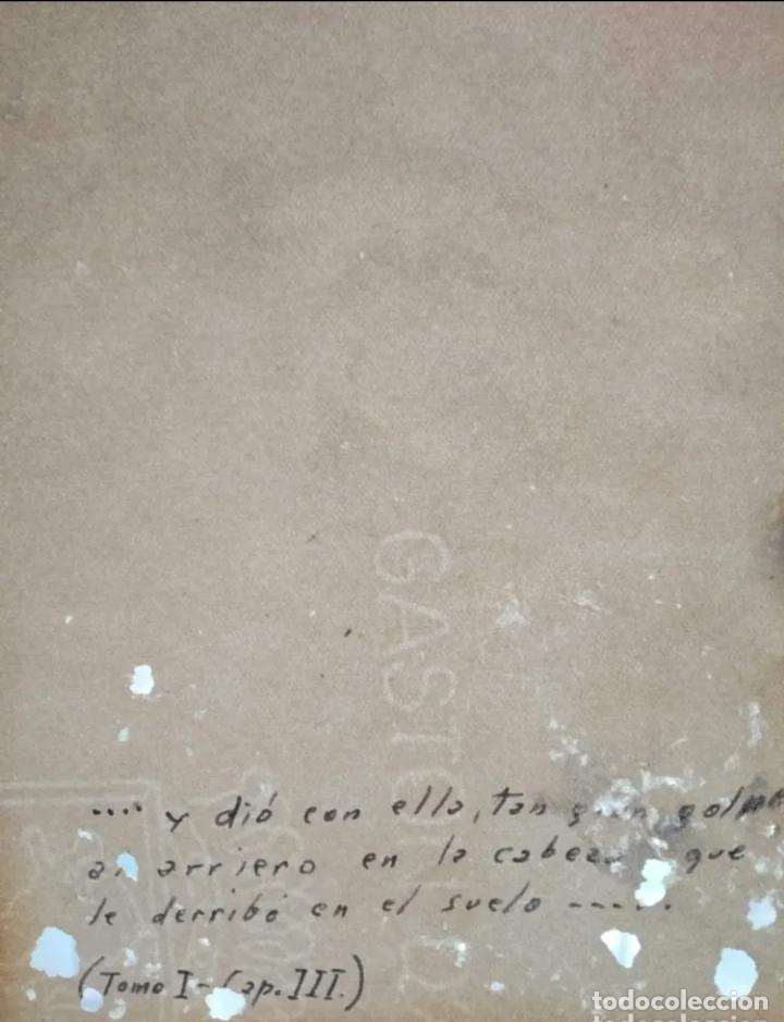 Arte: Dibujo antiguo del siglo 19 - Foto 4 - 262573175