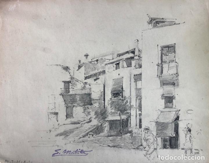 SEGUNDO MATILLA - DIBUJO SOBRE PAPEL - (Arte - Dibujos - Contemporáneos siglo XX)