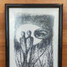 Arte: DIBUJO ENMARCADO FIRMADO. Lote 265430494