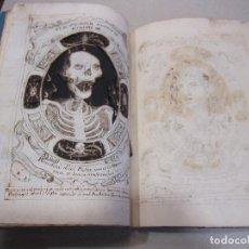 Arte: 13 DIBUJOS A TINTA. 1763. MANUSCRITO PHISICA GENERALIS ANTIQVORUM PRINCIPIIS.... Lote 266917974