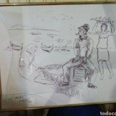 Arte: DIBUJO JORDI SARRA. Lote 267257309