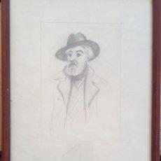 Arte: SIN FIRMA- RETRATO DE SANTIAGO RUSIÑOL-. Lote 267734199