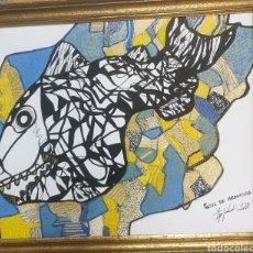 Arte: EPIFABAL TÉCNICA MIXTA SOBRE PAPEL. Lote 267786949