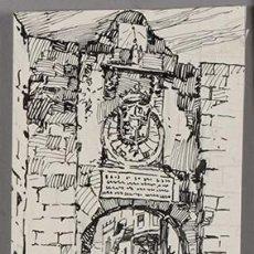 Arte: DIBUJO ORIGINAL A LÁPIZ Y TINTA DE FRANCESC ALMUNI. Lote 269041423