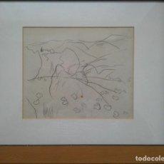 Arte: JOAQUÍM MIR I TRINXET- BOCETO DE PAISAJE-. Lote 269415778