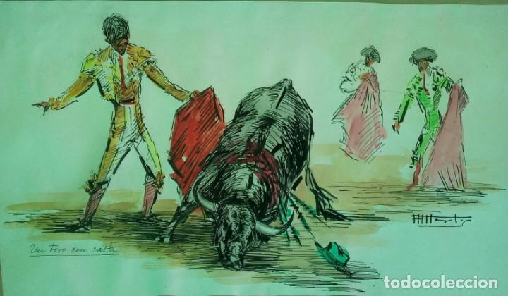 OBRA DE ALFREDO MARTOS (Arte - Dibujos - Contemporáneos siglo XX)