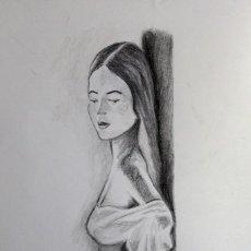 Arte: PENSATIVA OBRA DE GILABERTE. Lote 273410973