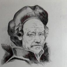 Arte: NOBLE CABALLERO OBRA DE GILABERTE. Lote 273513753