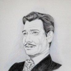 Arte: CARK GABLE OBRA DE GILABERTE. Lote 273521038