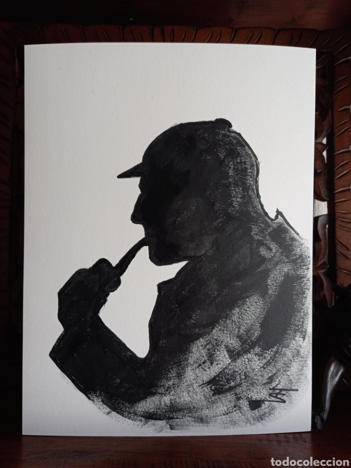 SHERLOCK HOLMES. OBRA ORIGINAL (Arte - Dibujos - Contemporáneos siglo XX)