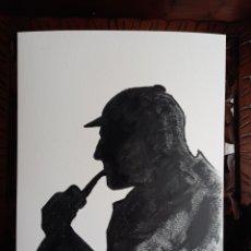Arte: SHERLOCK HOLMES. OBRA ORIGINAL. Lote 273624963