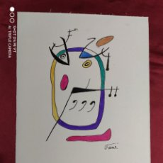 Arte: DIBUJO ORIGINAL. SERIE ARCO IRIS. TINTA CHINA Y PINCEL. FIRMADO. V. FARRRES. Lote 274434713