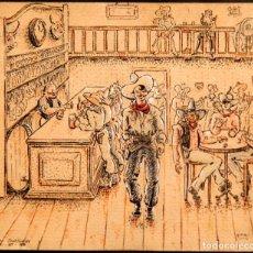 Arte: ORIGINAL CAMPO DE CONCENTRACION 1939 - CAMP SEPTFONDS - FIRMA FOMI. Lote 274794748
