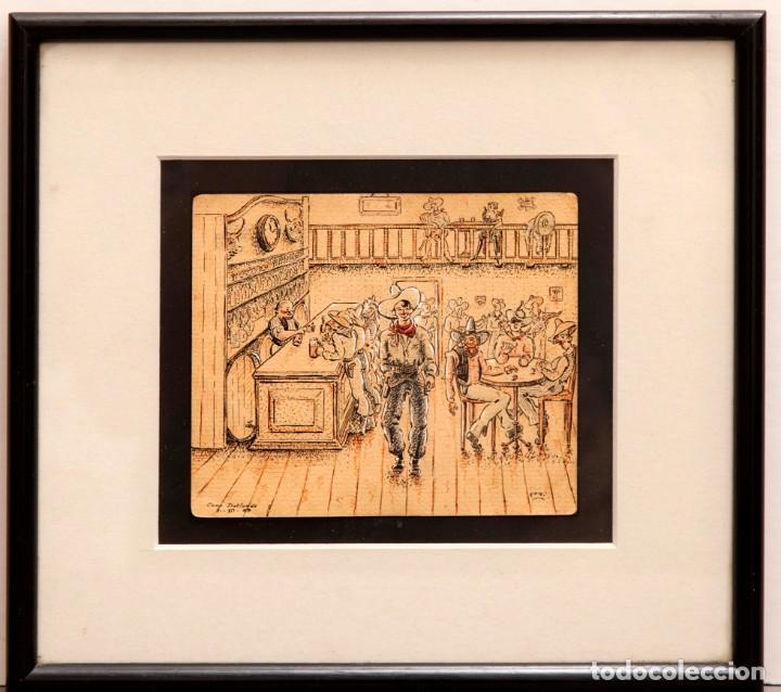Arte: ORIGINAL CAMPO DE CONCENTRACION 1939 - CAMP SEPTFONDS - FIRMA FOMI - Foto 7 - 274794748