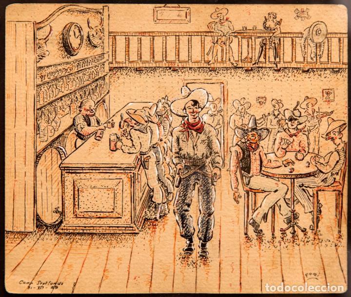 Arte: ORIGINAL CAMPO DE CONCENTRACION 1939 - CAMP SEPTFONDS - FIRMA FOMI - Foto 8 - 274794748