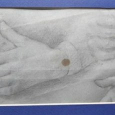 Arte: DIBUJO DE MANOS. SIGLO XIX. ROGAMOS LEER BIEN LAS CONDICIONES ANTES DE PUJAR O COMPRAR.. Lote 275491828