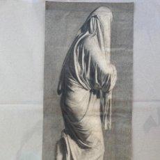 Arte: EXCELENTE DIBUJO ORIENTALISTA . SIGLO XIX. 54.5 X 23.5 CM.. Lote 275647988