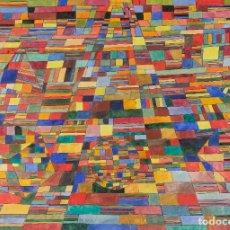 Arte: ISABEL SERRAHIMA (1934-1999) DIBUJO COMPOSICIÓN GEOMÉTRICA FIRMADO. Lote 276047288