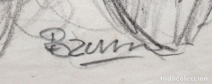 Arte: FRANCESC FERRET FARRERAS -Bruno- (Sitges, 1921 - 2000) ESBOZOS - Foto 6 - 276175823