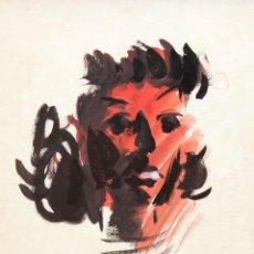 Arte: GORI MUÑOZ (VALENCIA,1906 - BUENOS AIRES, 1978) TECNICA MIXTA. RETRATO FEMENINO. Lote 276708978