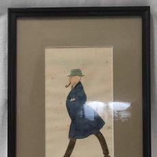 "Arte: ""CAMINATE"", TÉCNICA MIXTA, BARCELONA 1921.. Lote 277038653"