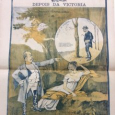 Arte: CARICATURAS DEL AÑO1901, FIRMADAS POR RAPHAEL BORDALLO PINHEIRO. MUY ESCASO. Lote 277464308