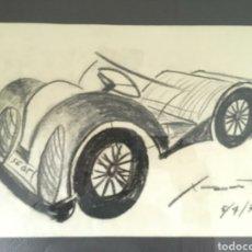 Arte: DIBUJO AL CARBON JOSEP M.XART I CASANOVA. Lote 277619843