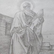 Arte: DIBUJO LÁPIZ PARA ENMARCAR. Lote 277627388