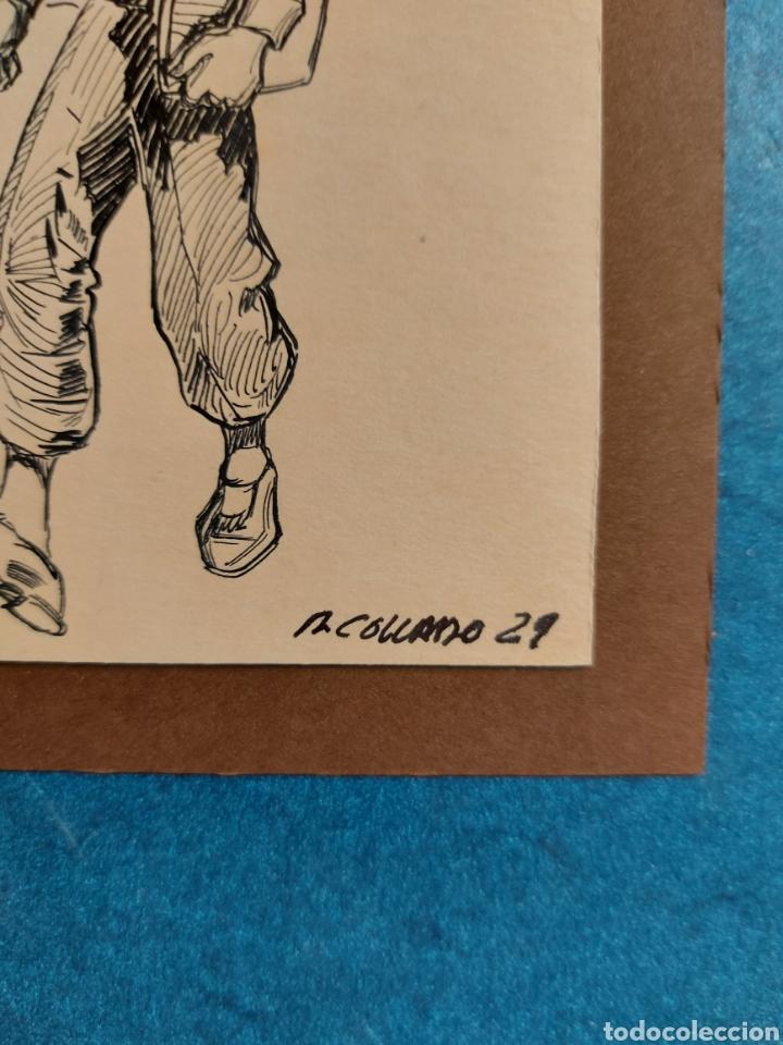 """Arte: M. COLLADO"""" ESTUDIANTE EPOCA"""" ORIGINAL ILUSTRACION 1929 - Foto 4 - 277632243"""