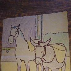 Arte: ORIGINAL DIBUJO PINTADO, CON FIRMA ANTONIO MINGOTE AÑO 1949. Lote 278330853