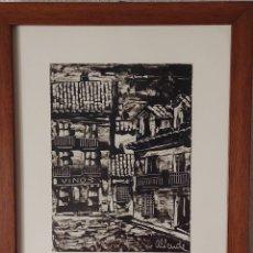 Arte: PUEBLO EXTREMEÑO. ALIENDE. 1980. Lote 278454053